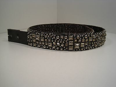 Fantastic Fully Studded Brown Leather Belt Made By B-Low The Belt