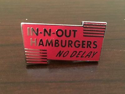 In-N-Out Burger Pin - Double Double -  In N out
