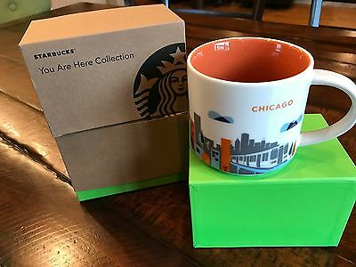 STARBUCKS Mug Chicago - You Are Here Collection - Copyright 2013
