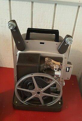 Vintage Bell & Howell 346 Autoload Super 8mm Movie Projector Works with Manual