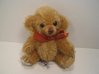 Tiny Fully Jointed Mohair Merrythought Teddy Bear