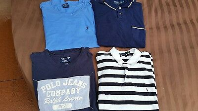 Lot of 4 Polo Ralph Lauren sport shirts,t shirts