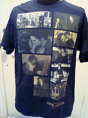 Twilight Saga New Moon Movie T-shirt, Size XL Scenes From the Movie Montage