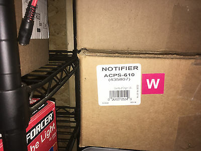 Notifier Acps-610 Fire Alarm Power Supply New In The Box