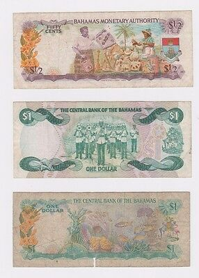 The Central Bank of The Bahamas (Lot Of 6) Notes