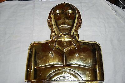Caja de Figuras de Star Wars C-3PO KENNER 1983 Action Figure Case