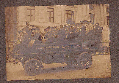 1904 Photograph of New York City Observation Automobile