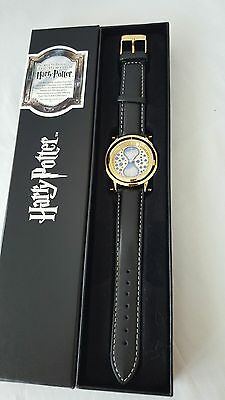 Harry Potter NN7504 Time Turner Watch Leather Band