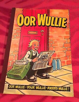 Vintage Annual Oor Wullie 1982 (Not Price Clipped)