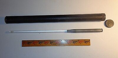 "ANTIQUE QUACK MEDICINE BATTERY POWERED GLASS TUBE-PROBE, ""ELTON"" w/CASE"
