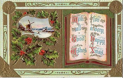 Early 1900's Christmas Postcard - Selling Lot Of Cards - Combine Ship!