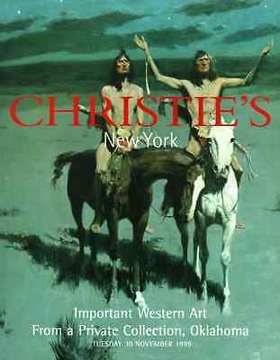 Christie's New York Important Western Art From A Private Collection