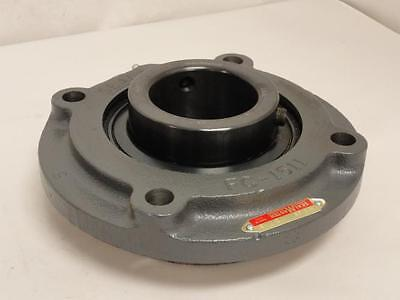 "167728 Old-Stock, Sealmaster MFC-39 Piloted Flange Bearing, 2-7/16"" ID"
