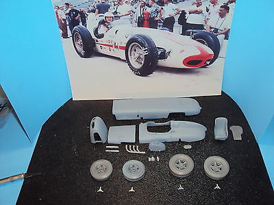 1/25 1959  indy 500 winner R.Ward resin and metal converstion kit for AMT watson