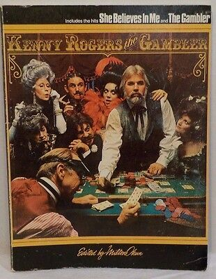 Kenny Rogers The Gambler Guitar Piano Vocal Tab Music Book