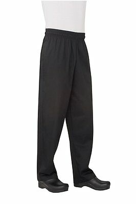 Chef Works Men's Essential Baggy Chef Pant Size L