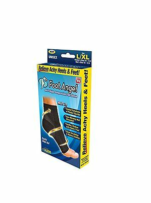 Foot Angel Anti Fatigue Compression 1 Sleeve Ankle Swelling Plantar Relief L/XL