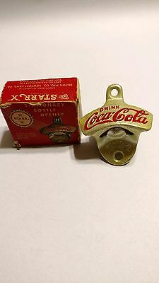 Starr X Coca Cola opener New in original box