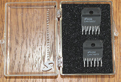 National Semiconductor LM4700TF NOS Qty 2 audio amplifier