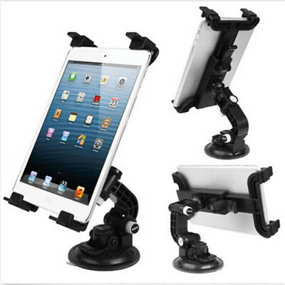 "Adjustable 7""-12"" Tablet PC Car Windscreen Windshield Mount Holder Stand Cradle"