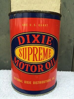 Beautiful...Rare...Vintage...1946...Dixie Oil Can