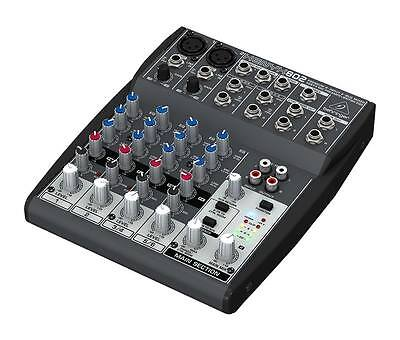Behringer XENYX 802 - Compact 8-Channel Mixer with XENYX Mic Pre-Amps