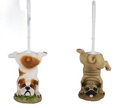 50cm Dog Novelty Toilet Brush Holder - Add Puppy Character to your bathroom