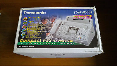 Brand New - Panasonic KX-FHD331 Compact Plain Paper Fax and Copier