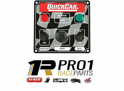 Quickcar Panel Switch 1 Acc Push Button Starter Speedway Rally Drag Race Car