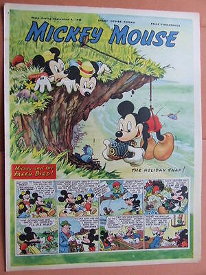 Mickey Mouse Comic. 4/9/1948.   Big post savings on multiple buys.