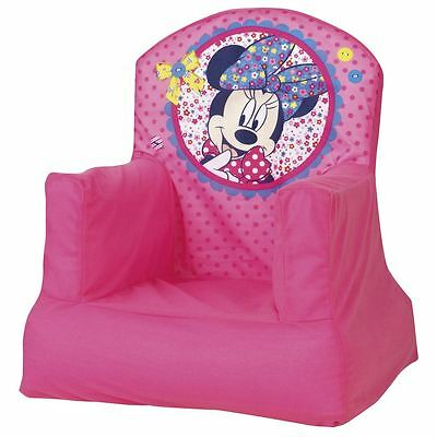 Minnie Mouse Cosy Chair Kids Girls Bedroom Playroom 100% Official New Free P+P