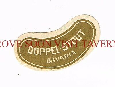 1900s Germany Bavaria Doppel Stout neck label Stephens Collection Tavern Trove