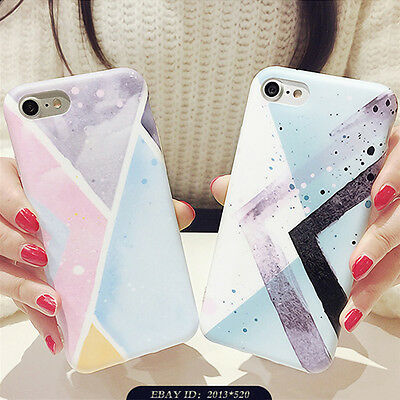 Slim Shockproof Soft TPU Gel Silicone Pattern Case Cover For iPhone 6 6s 7 Plus