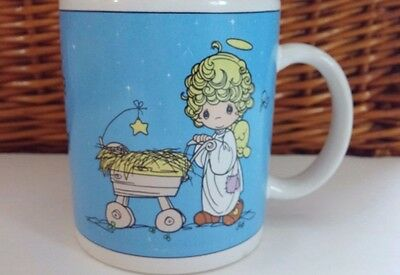 Precious Moments Large Coffee Mug Cup Bringing Gods Blessing To You Vintage