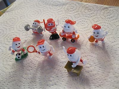 7 Kinder Surprise Sports sport toy collection (toys only)   USA SELLER