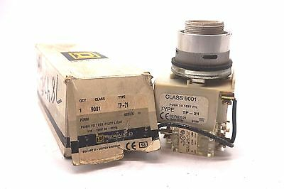 New Square D 9001-Tp-21 Pilot Light Ser.h  9001Tp21