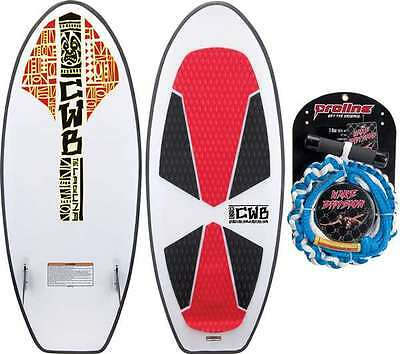 Connelly CWB   LAGUNA Wakesurf Board 54 inch Package - Includes Tow Rope