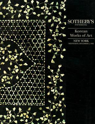 Sotheby's Korean Works Of Art Ny  Rare Works