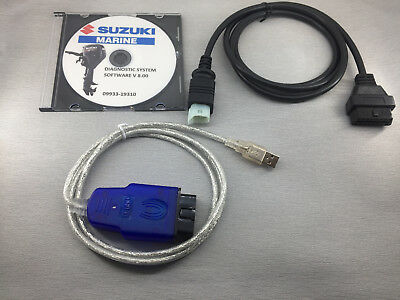 SUZUKI DF70A/80A/90A - 2009 and later Professional Outboard Diagnostic kit