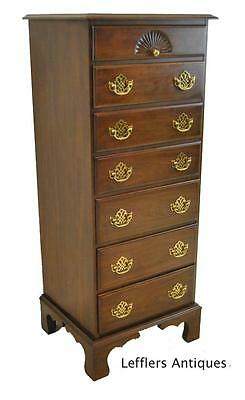 Mahogany 7 Drawer Lingerie Chest by Harden Furniture