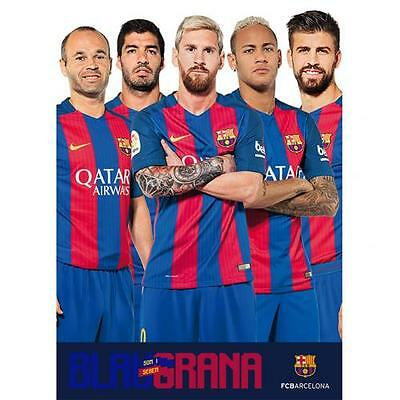 Official Licensed Football Product FC Barcelona Poster Players Team Messi New