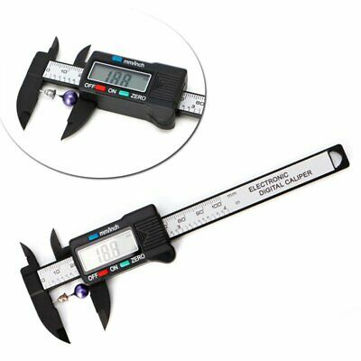 4''/ 6'' Digital Vernier Caliper Electronic Micrometer LCD Measuring Gauge Tool
