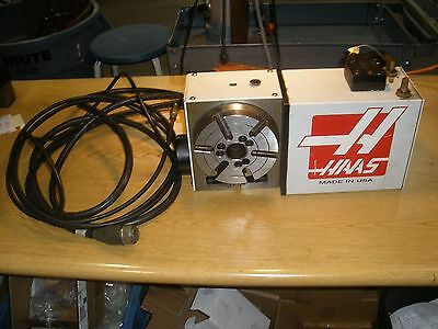 Haas HRT160 Rotary Table Indexer With Cable & Air Line