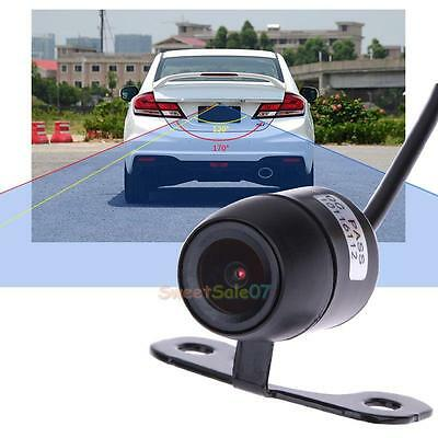 Waterproof 170° CMOS Mini Color Reverse Backup Car Rear View Camera Night Vision