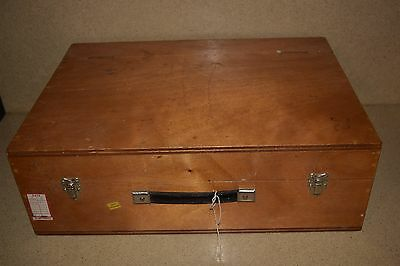 "++ Wood Hard Equipment Carrying Case - 21X15X4"" Inside (10J)"