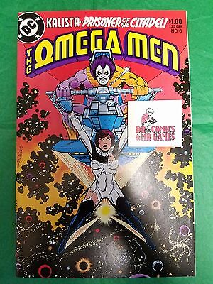 Omega Men #3 Keith Giffen 1st Lobo SOLID 9.6 WHITE Pages
