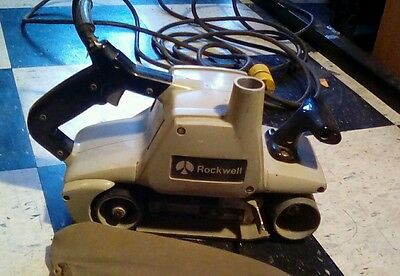 "Rockwell 362 HD Heavy Duty Dustless Belt Sander 4"" x 24"""