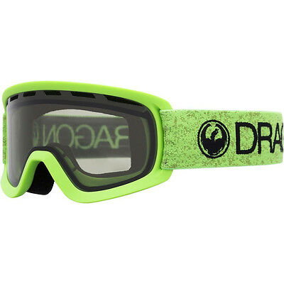 88a6334e5768 Dragon Alliance Dragon Lil D Ski Snowboard Goggles LilD kids Green Smoke NEW