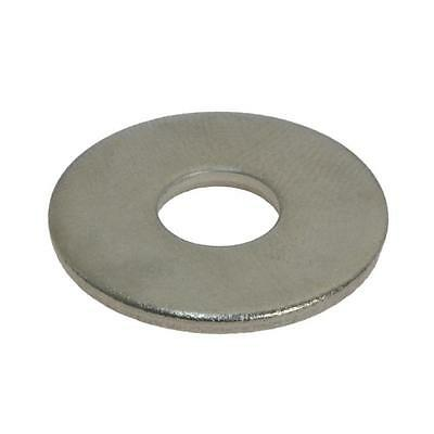Flat Mudguard Washer M10 (10mm) x 30mm x 2.5mm Metric Penny Stainless G304