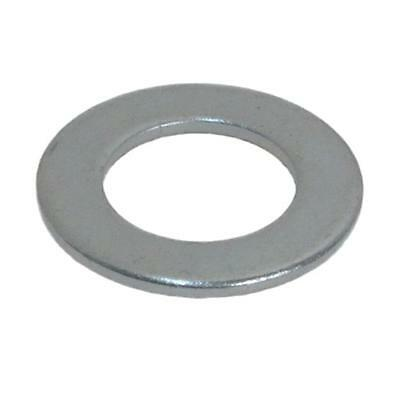 "Flat Washer 3/8"" x 1 x 16g Imperial Round Steel Zinc Plated"